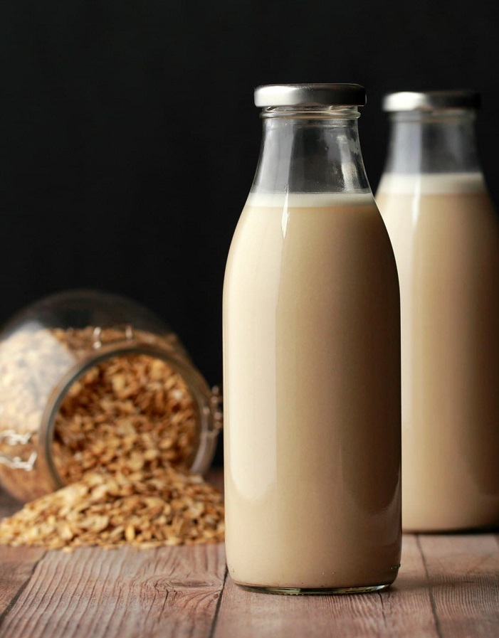 Oats milk is the next best option for substituting dairy milk